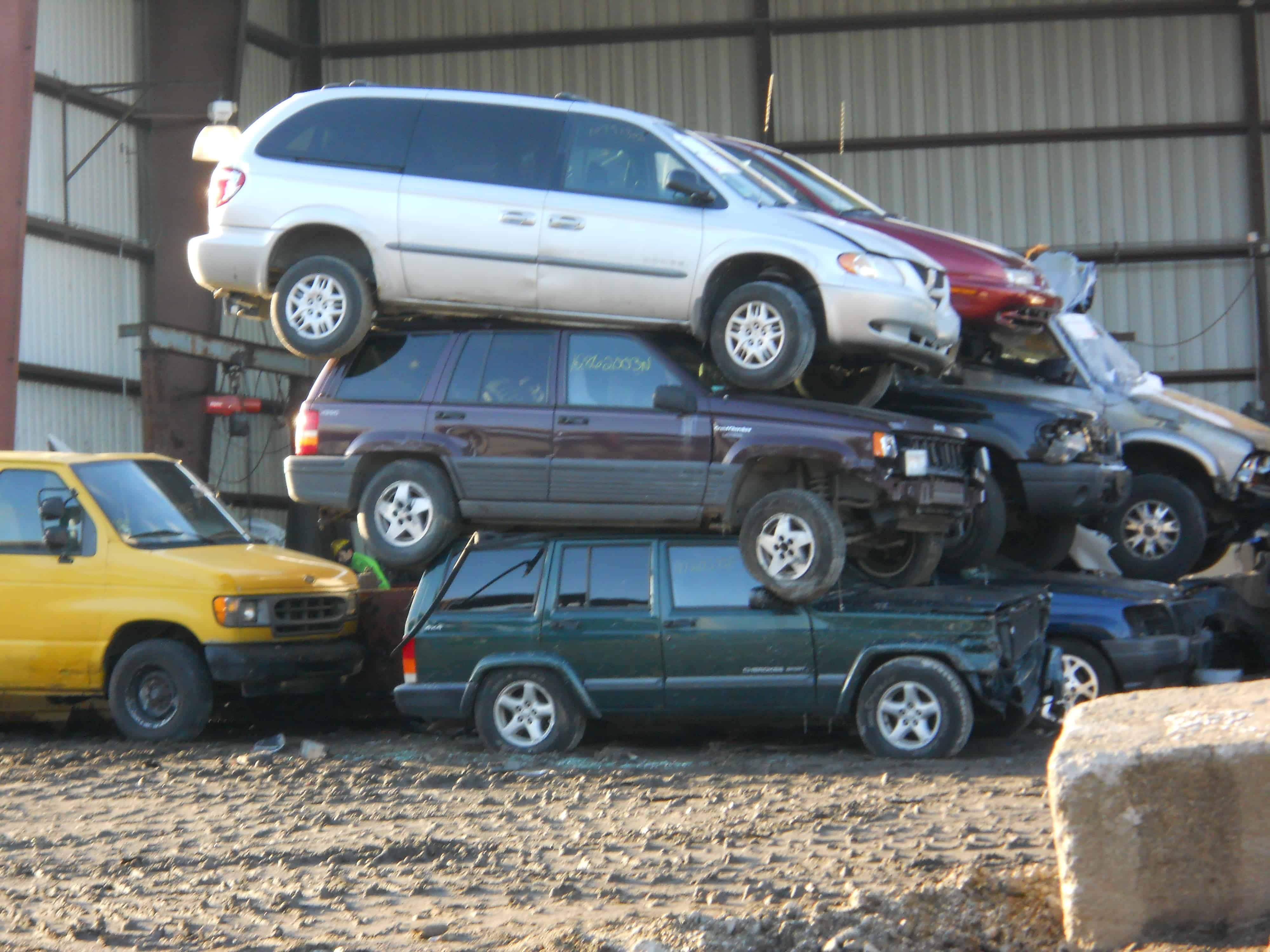 Junk Car Yard Is Located in Walpole MA | ARS Towing & Junk Car Removal