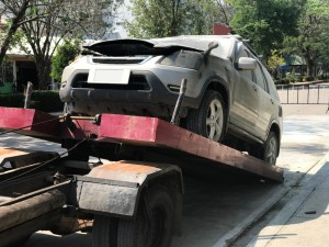 towing old cars